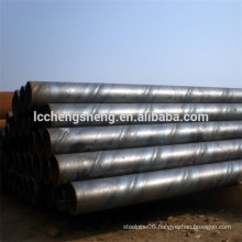ASTM A134 SSAW spiral welded Steel Pipe