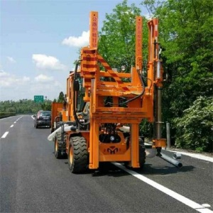 Multifunctionele Guardrail-alles-in-één machine voor boren
