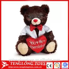 Peluche oso de peluche oso de peluche para el día de San Valentín