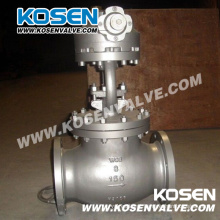 Válvula de globo de aço fundido BS 1873 (J541H)
