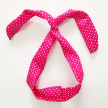 Small Polkadot Rabbit Headband for Person Care Products