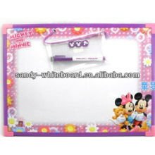 OEM plastic drawing whiteboard 20*30cm