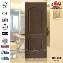 JHK-S03 12MM Pommele Grain With Good Quality Best Sale Southeast Asia HDF Chestnut Veneer Door Panel