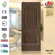 JHK-S03 12MM Grão Pommele com boa qualidade Melhor venda Sudeste Asiático HDF Chestnut painel folheado porta
