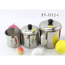 Stainless Steel Mug with Lid (FT-3312-1)