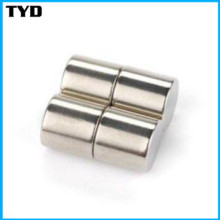 China NdFeB Magnet Manufacturer for N42 Neodymium Cylinder Magnet