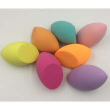 Olive Cut Shape Non-Latex Makeup Sponge