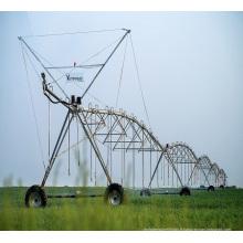 système d'irrigation à pivot central avec tuyau galvanisé