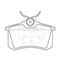 77 01 208 213 brake pads for Renault Clio 3/Megane 2/Scenic rear
