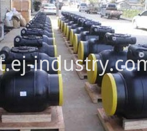 welded body ball valve4