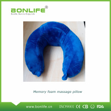 Memory Foam Neck Massage Pillow