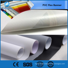 Trade Assurance 440gsm 13OZ 250*250D 36*36 double side printable blockout pvc flex banner for advertising
