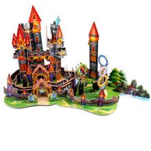Juguete educativo 3D rompecabezas fantástico castillo