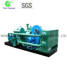 2.2-21MPa Gas Pressure Natural Gas Piston Reciprocating Compressor