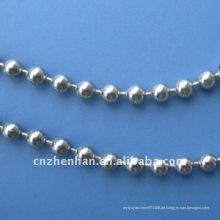 Vorhang-Komponenten-Edelstahl Kugel Kette-Metall Ball Vorhang Kette-4,5 mm vertikale blinde Perlenketten