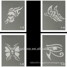 butterfly glitter tattoo designs