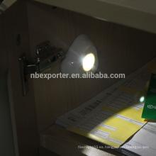 Con sensor de movimiento y sensor de luz 3 * AAA Fuente de alimentación de la batería SMD ABS LED Sensores de movimiento para las luces interiores