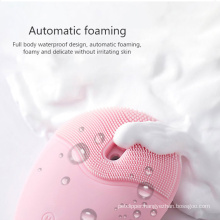 Deep cleansing electric facial cleanser brush
