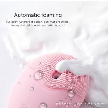 Cepillo limpiador facial eléctrico de limpieza profunda