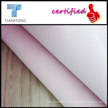 Schweres Gewicht T/C Spandex Blended Twill Soild Stoff für Lady Slim Pants/Splitter Beschichtung Elasthan Twill Stoff färben