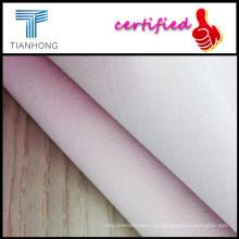 Тяжелый вес T/C спандекс смесовые саржевого полупроводниковые крашения ткани для Леди тонкий брюки/Щепка покрытие спандекс Twill ткани