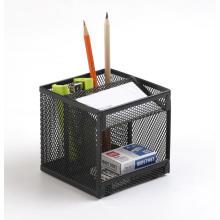 Organizador de mesa de metal de malha de escritório