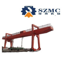 Double Electrical Trolley Winch Gantry Cranes Factory Installation