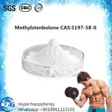 Esteroides anti crudos estándar del estrógeno de GMP Methylstenbolone