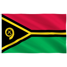 Custom size all countries of the world hand flag Vanuatu National Day table banner china factory Vanuatu promotion flying flag