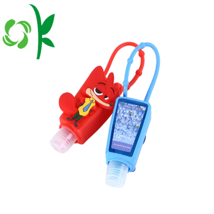 Mini Refillable Silicone Hand Sanitizer Holder