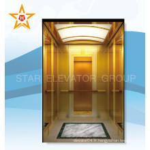 Luxueux ascenseur de passagers qualifié pour Ritzy Rummery
