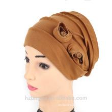 indian styles fashion muslim prayer cap women double floral cap