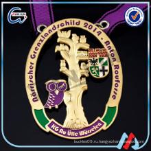 Sedex 4p Чжуншань медаль цинка оптовая награда военных медалей и лент