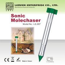 Sonic Mole Chaser batteriebetriebene Garten Schädlingsbekämpfung Maulwurf Repeller
