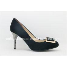 Mais nova moda sapatos de sapatos de salto alto