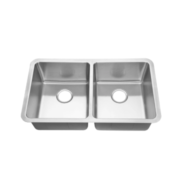 kitchen sink double bowl stainless steel