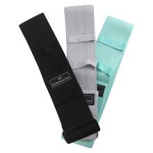 Conjunto de bandas de resistencia de estiramiento de cadera ajustables