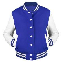 Hoodie de algodão dos homens personalizados Hoodie Baseball Varsity Jacket em cores diferentes