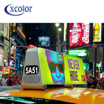 Telecomando wireless P5 Taxi Top Display a LED