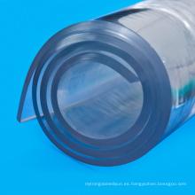 Las cortinas de puerta transparente decoran rollo de película de PVC