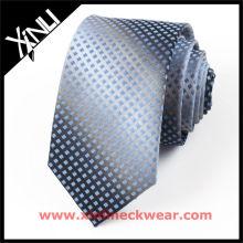 Hellgrüne Streifen Männer 100% Seide Krawatten