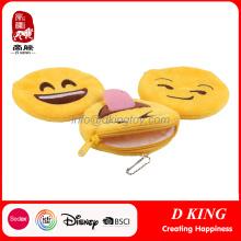 Monedero popular de los niños del diseño embroma el bolso de la felpa del monedero de la moneda