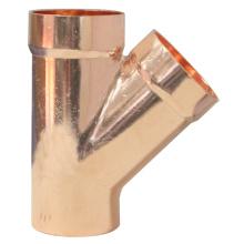 Eccentric Copper Y TEE
