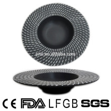 Padrão único porcelana / placa de cerâmica de massas
