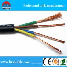 Alambre de cobre aislado Cable eléctrico subterráneo