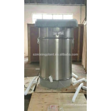 Coletor de pó de ciclone industrial para silo de cimento