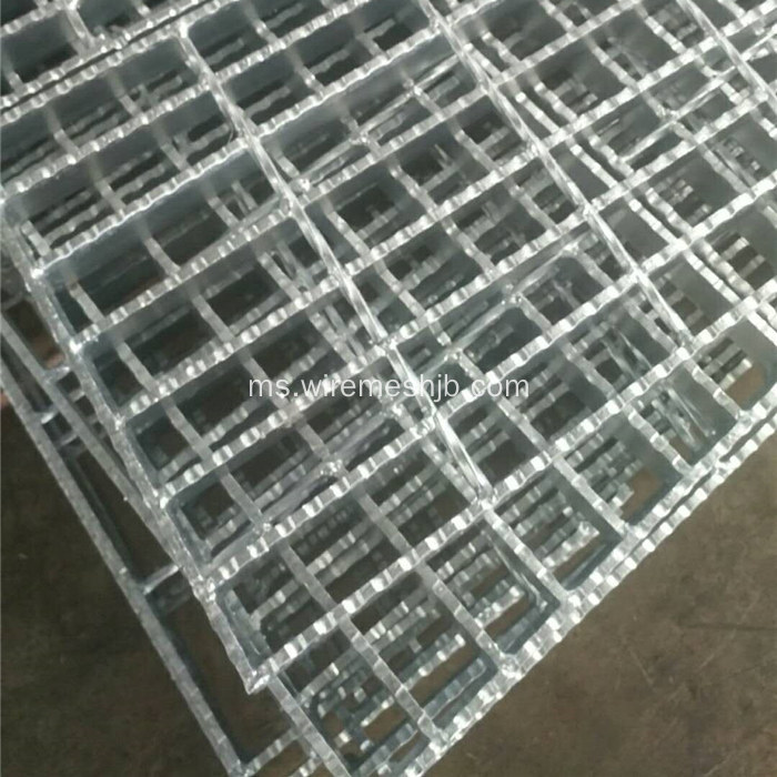 Galvanized Bar Grating Stair Treads