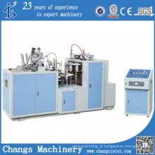 Copo de papel revestido do PE do Dobro-Lado da série de Jbz-S12 que faz a máquina