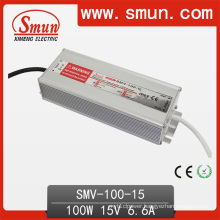Smun Waterproof 100W 15V LED Driver with 3 Years Warranty