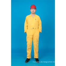 65% Polyester 35% Baumwolle Langarm Sicherheit Billig Arbeitskleidung (BLY1026)
